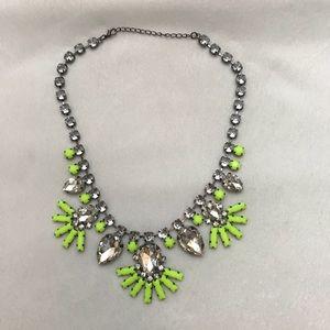 Neon Green Statement Necklace